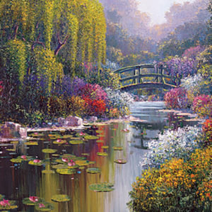 Pejman Gallery - painting of Giverny pond